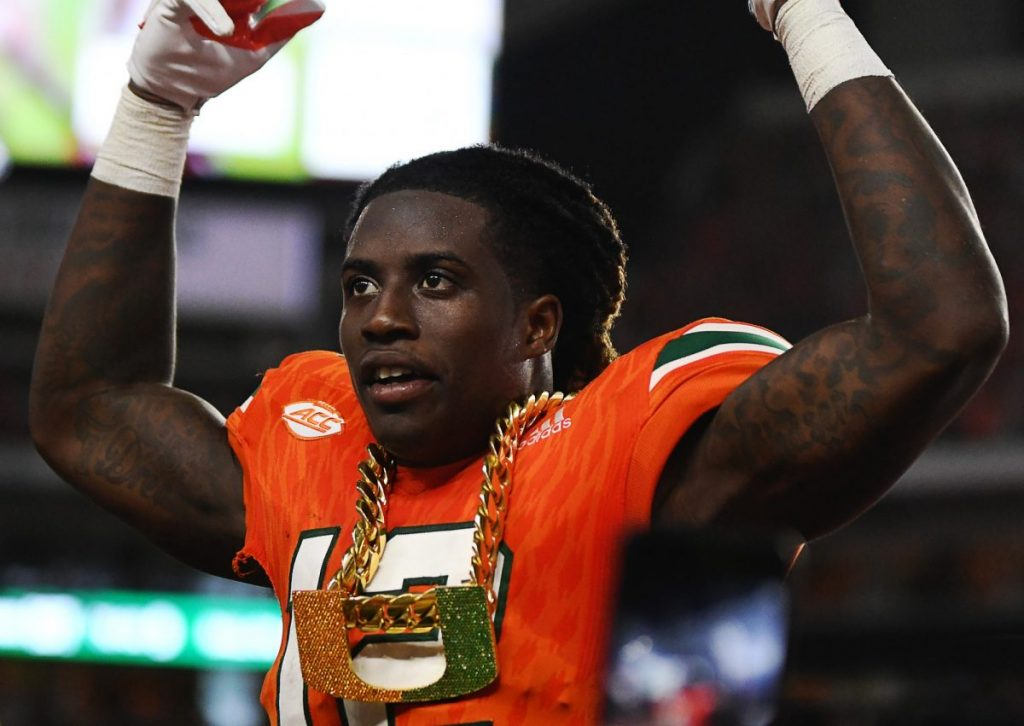 Canes cornerback to have career-ending surgery