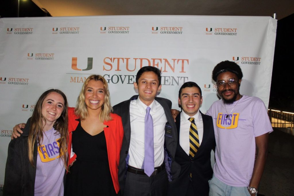 Uncontested 'U First' ticket utilizes scheduled debate to promote platform, initiatives