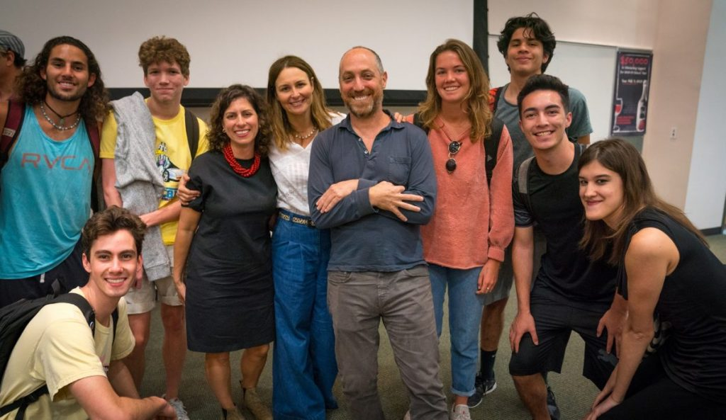 'The Florida Project' producers visit classroom, discuss filmmaking