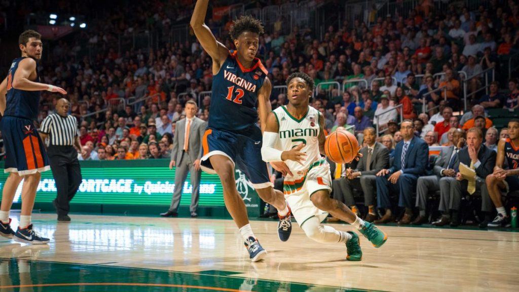 Hurricanes score season-low in loss to No. 1-ranked Cavaliers