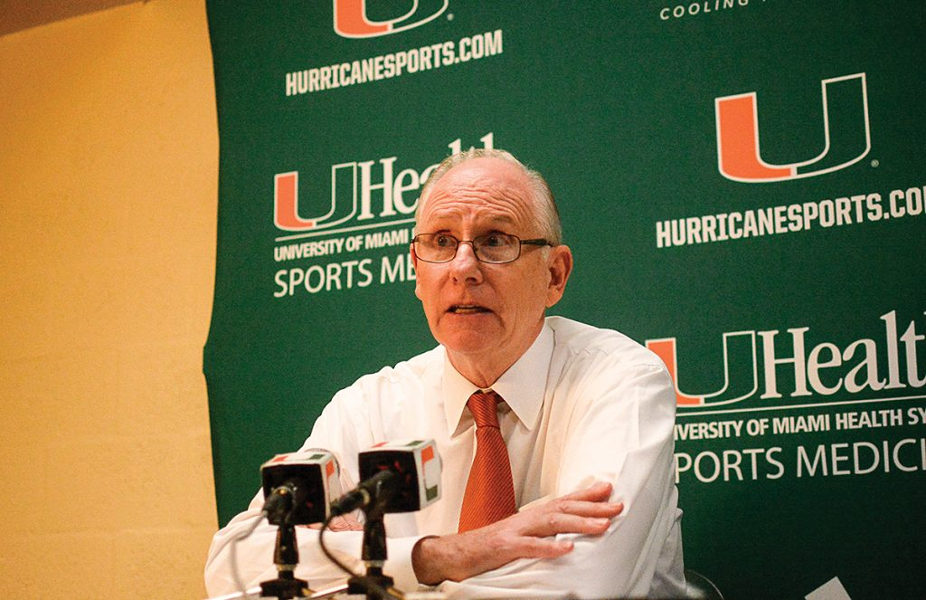 Federal government drops charges on AAU director in basketball bribery scandal, Miami looks to be clean