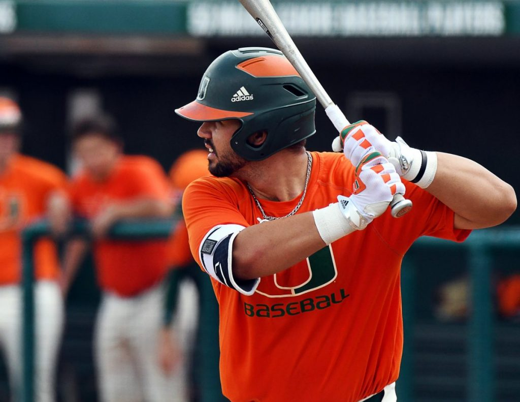 Seven-run explosion guides Miami past Rutgers in second game of series