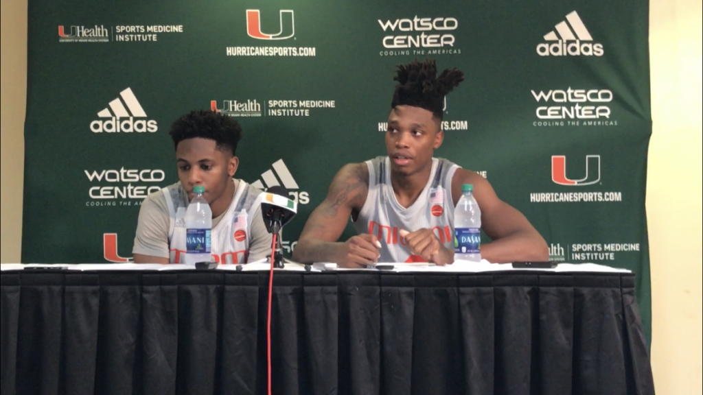 Chris Lykes and Lonnie Walker
