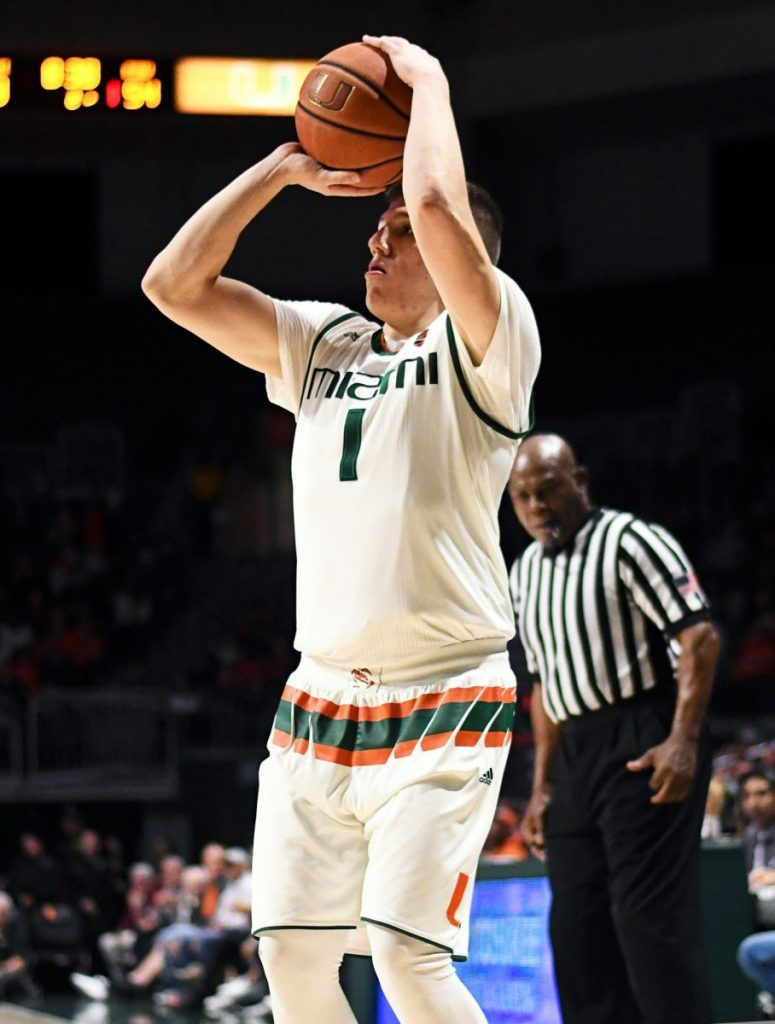 Miami goes cold in final minutes to fall to Boston College