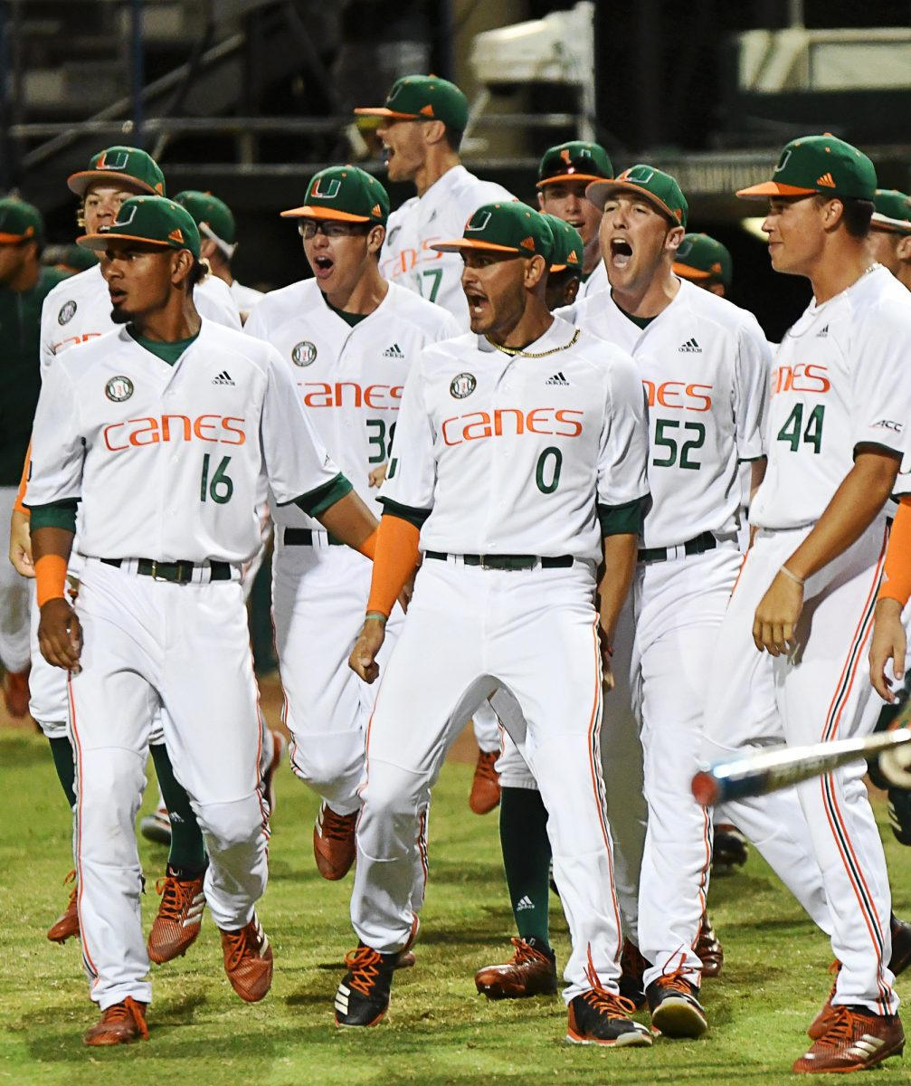 new product 6fef4 5aae6 McKendry, Cabezas take command in Canes win against Gators ...