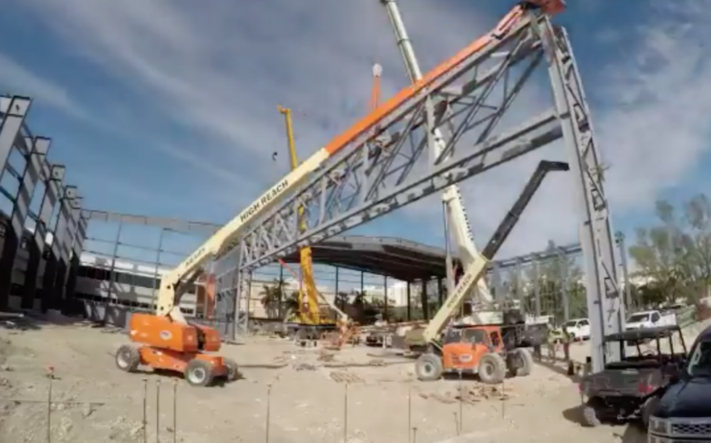 UM athletics continues progress on football indoor practice facility