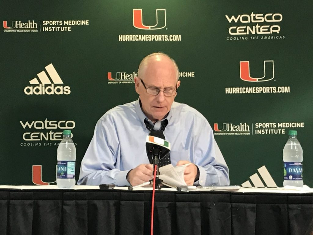 Miami loses third-straight game, offensive struggles continue with tournaments looming