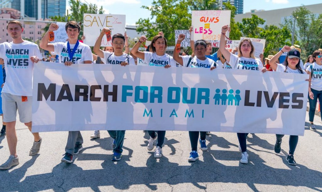 Thousands attend Miami's March For Our Lives spearheaded by UM students