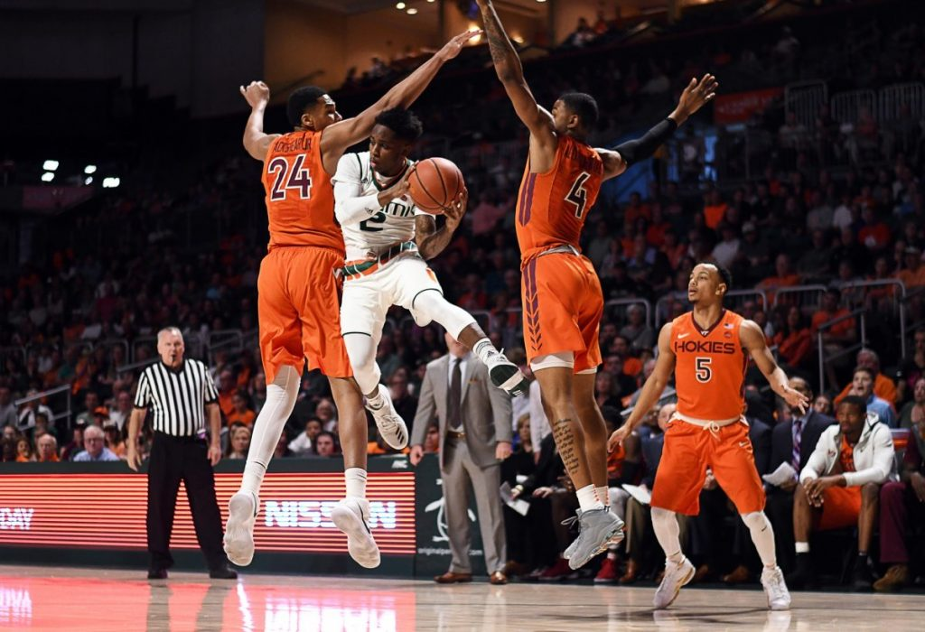 Canes come back from 12 points down to defeat Hokies in regular season finale