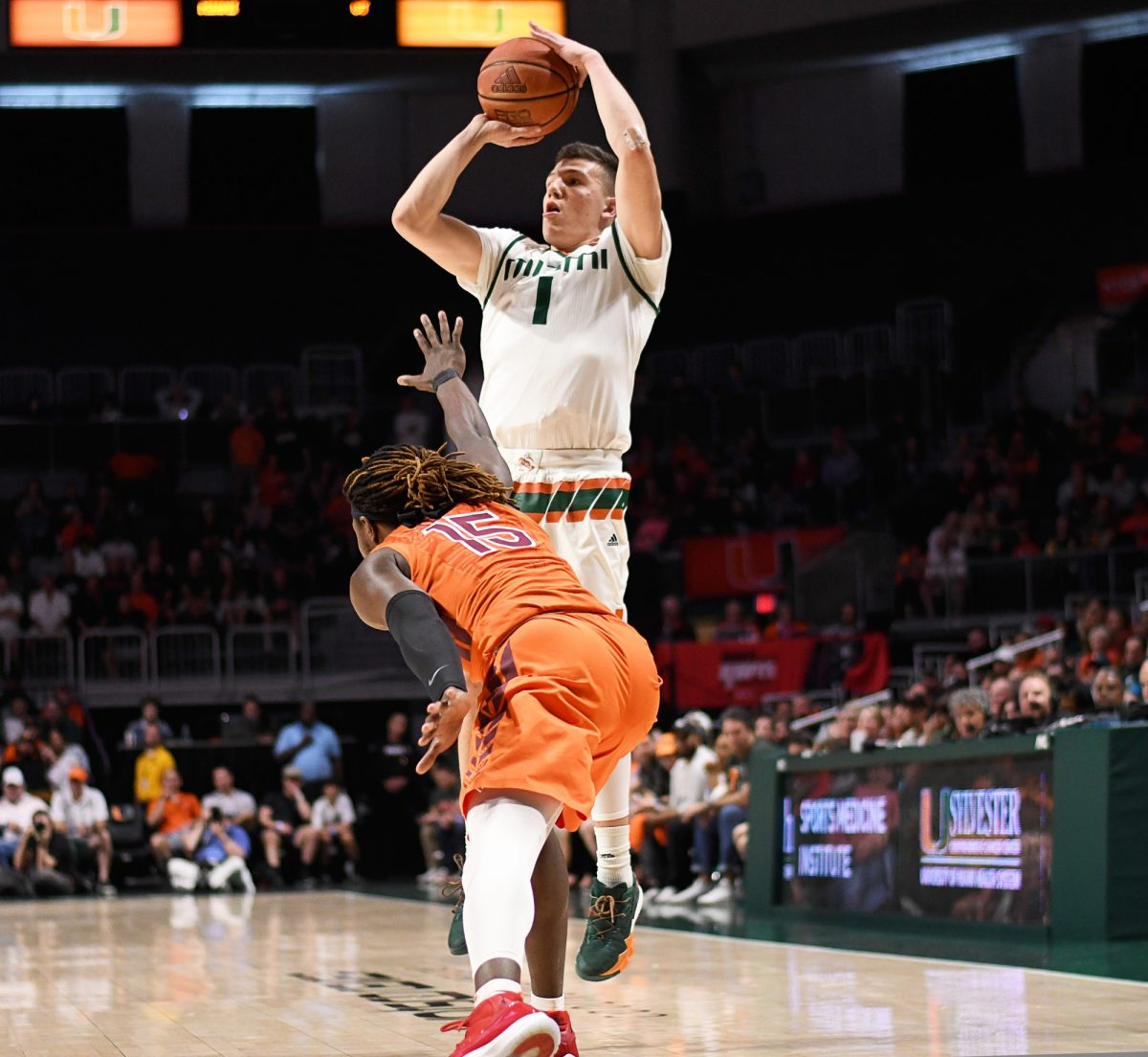 Canes come back from 12 points down to defeat Hokies in ...
