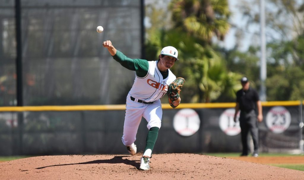 Miami's Evan McKendry comes out victorious in pitchers' duel