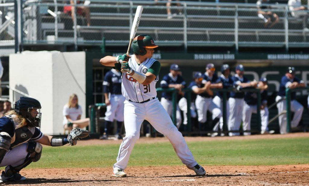 Freshmen drive in 7 runs, McKendry dazzles in Miami win over Maine