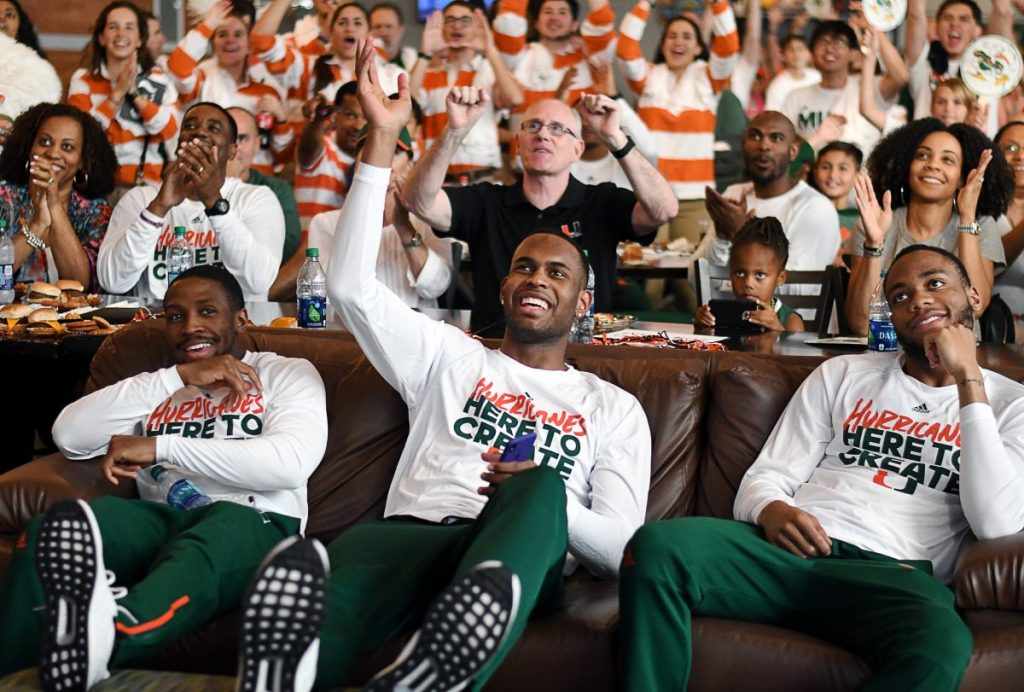 Miami Hurricanes earn No. 6 seed in NCAA Tournament, will play Loyola-Chicago in first round