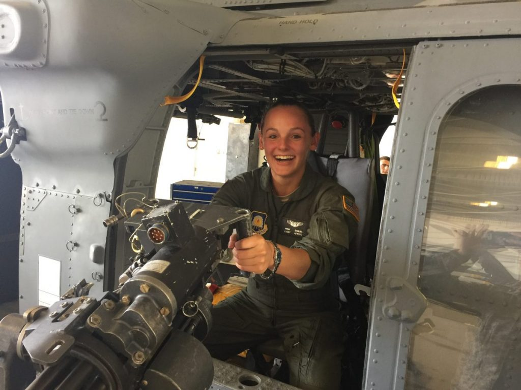 'He believed she could fly' – ROTC student finds unexpected career path in college