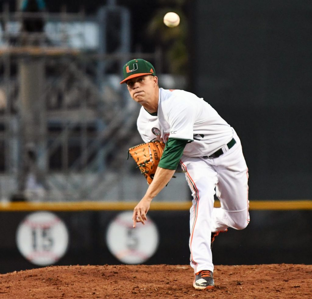 Late Panthers home run dooms Canes in pitcher's duel