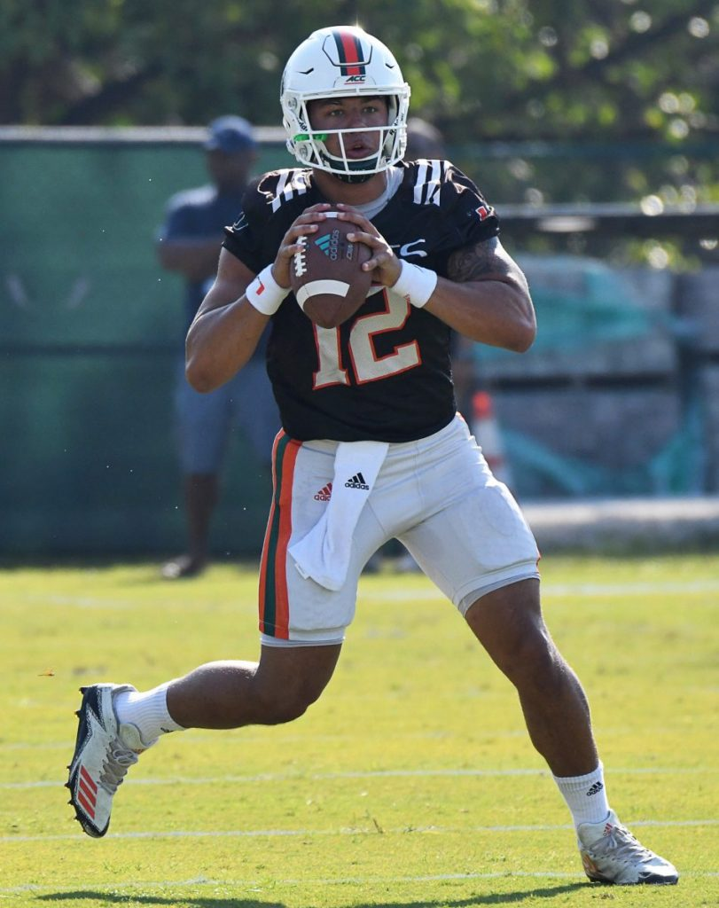 Coach Mark Richt says 'Malik is ahead of everybody' after first spring scrimmage