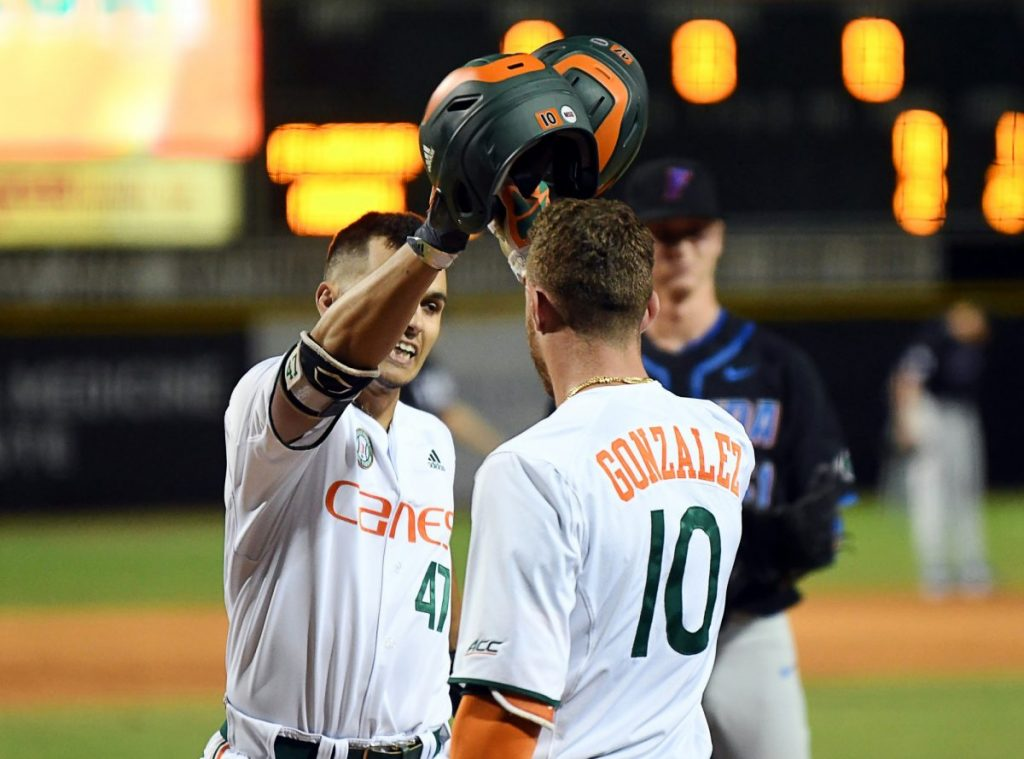 Six Canes selected in 2018 MLB draft