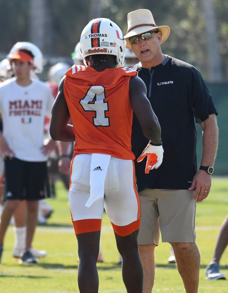 Miami begins fall camp looking to avenge last year's shortcomings