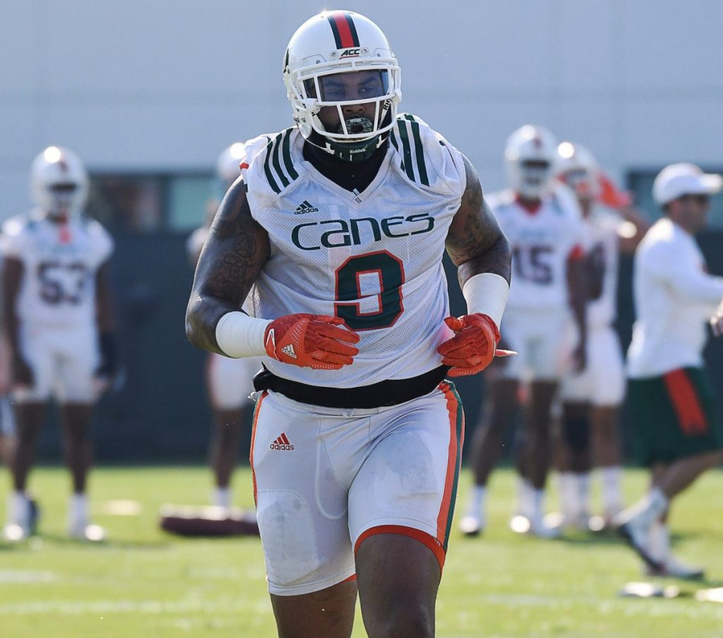 'Terrorizing' defensive tackle eager for opportunity to help Hurricanes