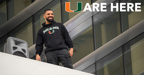 Not 'Too Good' for you: Drake makes surprise visit to campus