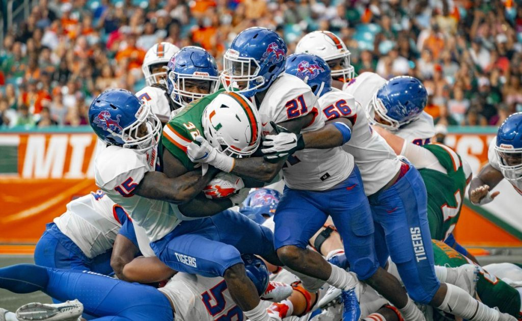 Photo of the Week: Miami vs. Savannah State Tigers—Sept. 8, 2018