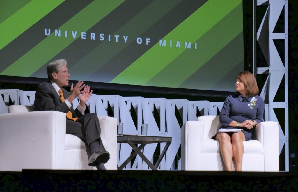 The State of the U is 'strong and rising,' Frenk says at first annual speech