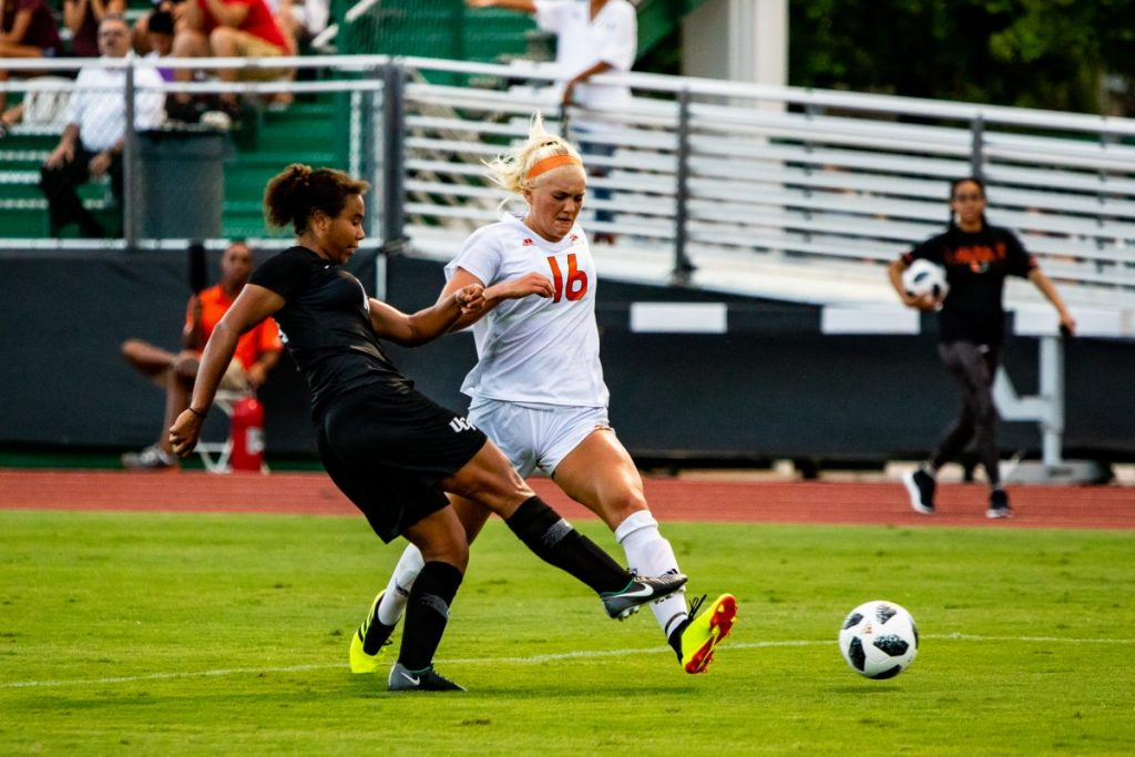 Hurricanes storm past Orange for first conference victory