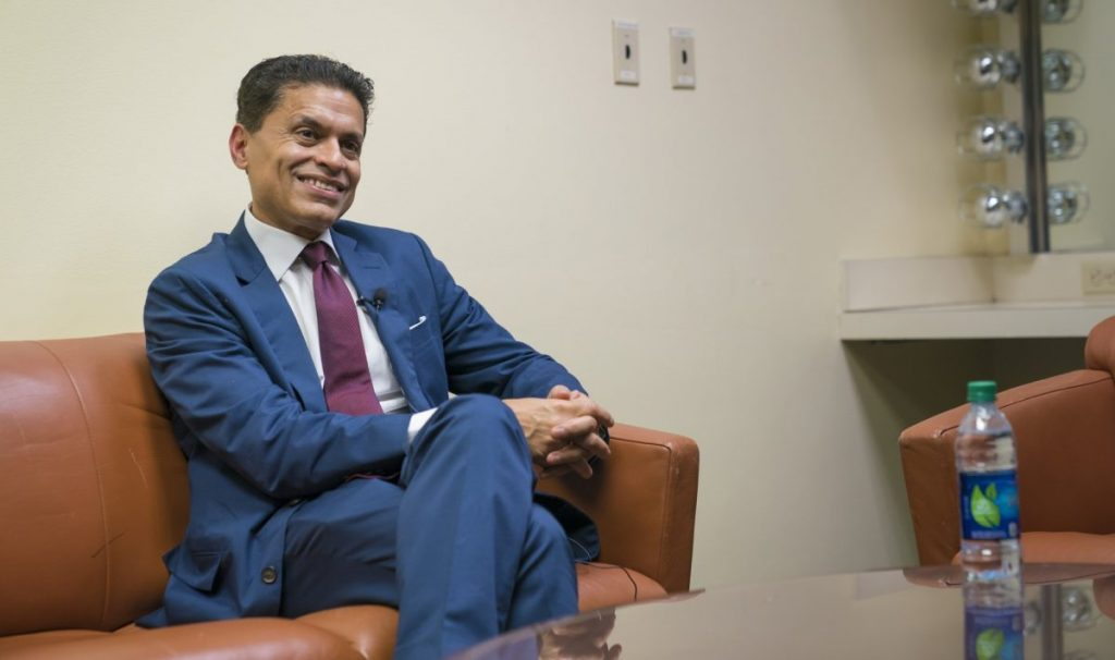 Fareed Zakaria encourages global approach to education