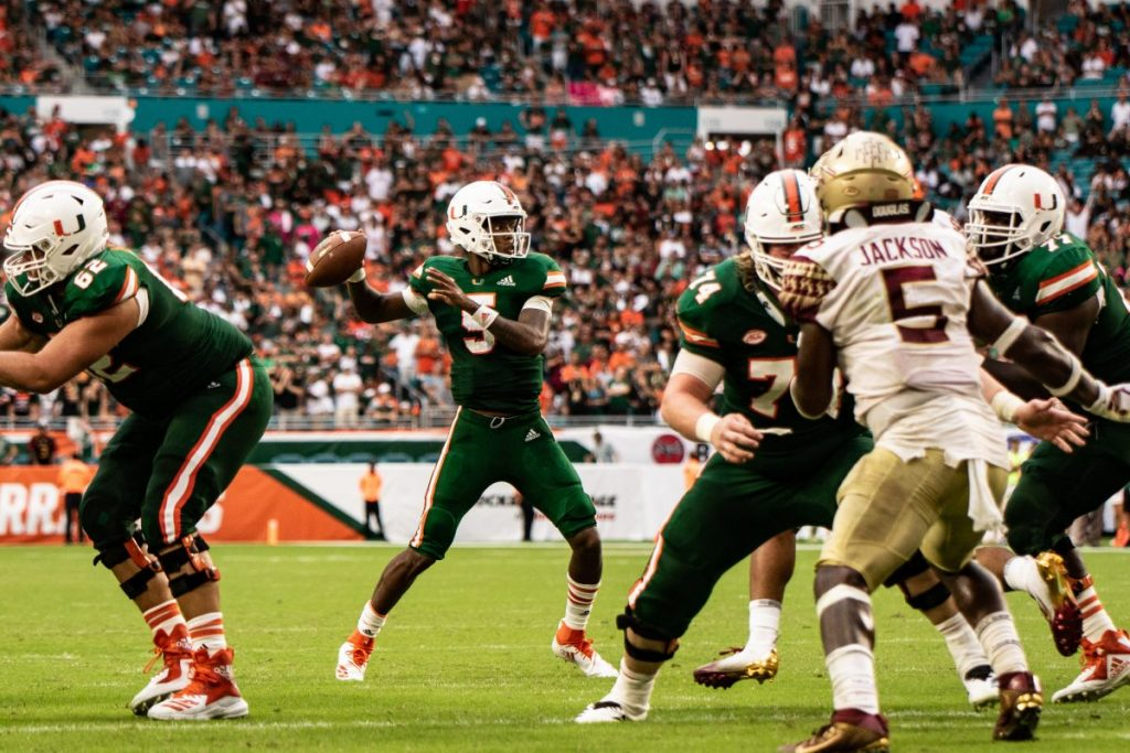 Miami Hurricanes QB N'Kosi Perry's social media struggles continue