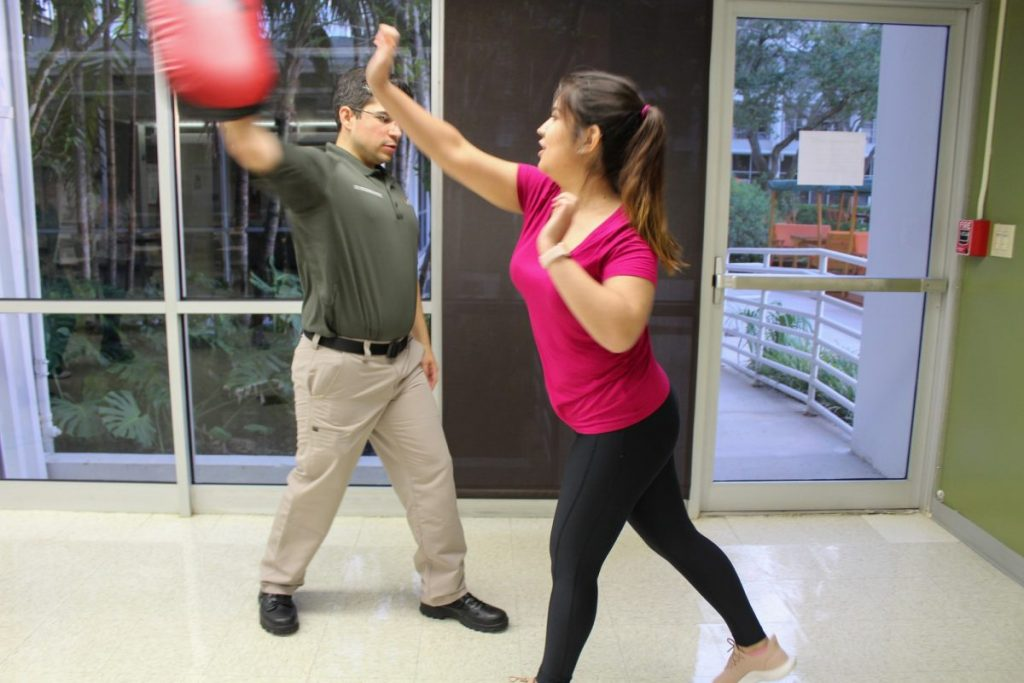 UMPD Teach Self-Defense Classes to Female Students and Faculty