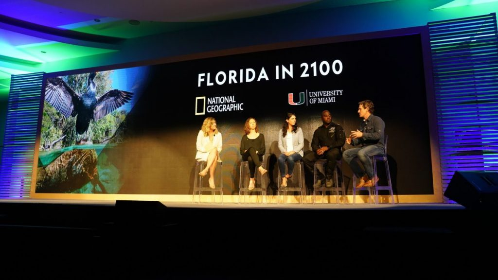 National Geographic comes to campus, inspires students to think creatively