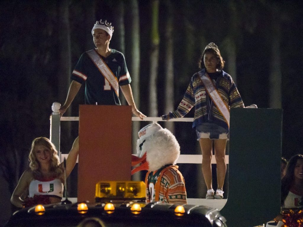 Homecoming king and queen reflect on victory, what it means to be a Cane