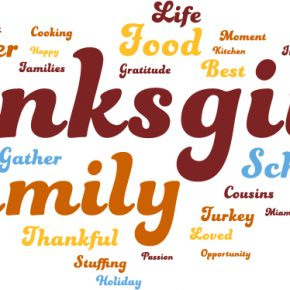 What does Thanksgiving mean to U?