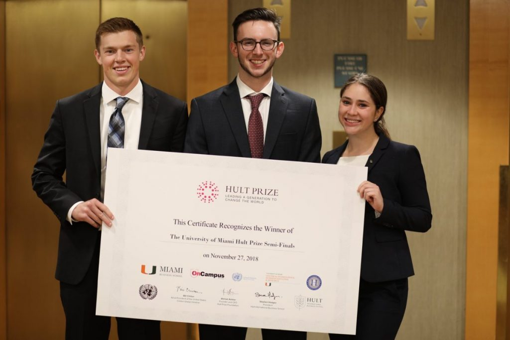 Miami Business School sophomores aim to help veterans, win $1 million prize with their startup
