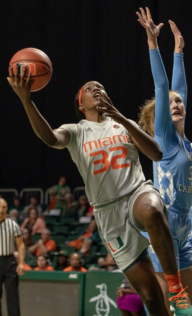 Miami fends off late North Carolina surge