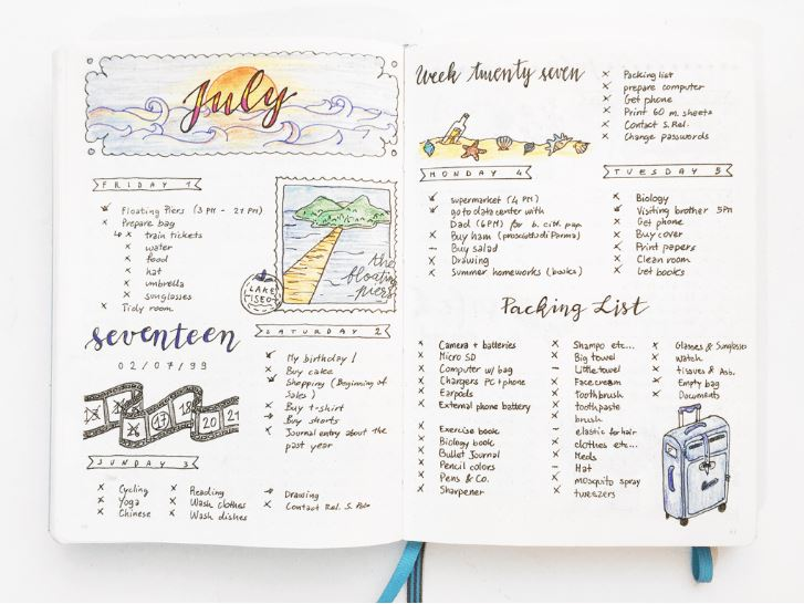 The bullet journal: disproving the myth of one-size-fits-all organization