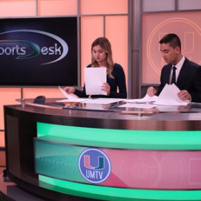 UMTV's SportsDesk awarded a College Emmy