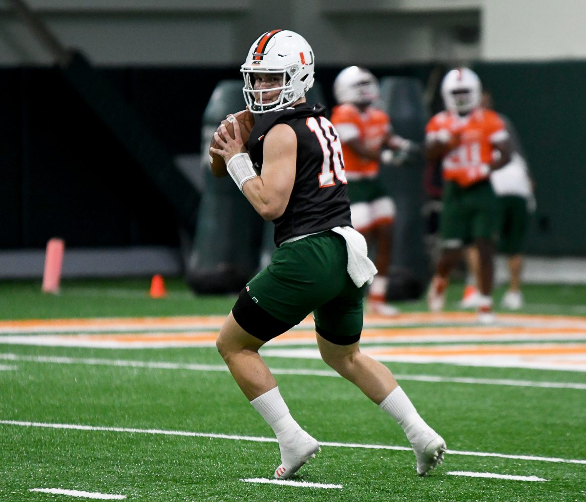 superior quality 3f517 b6d51 Miami quarterback Tate Martell eligible after NCAA grants waiver – The Miami  Hurricane