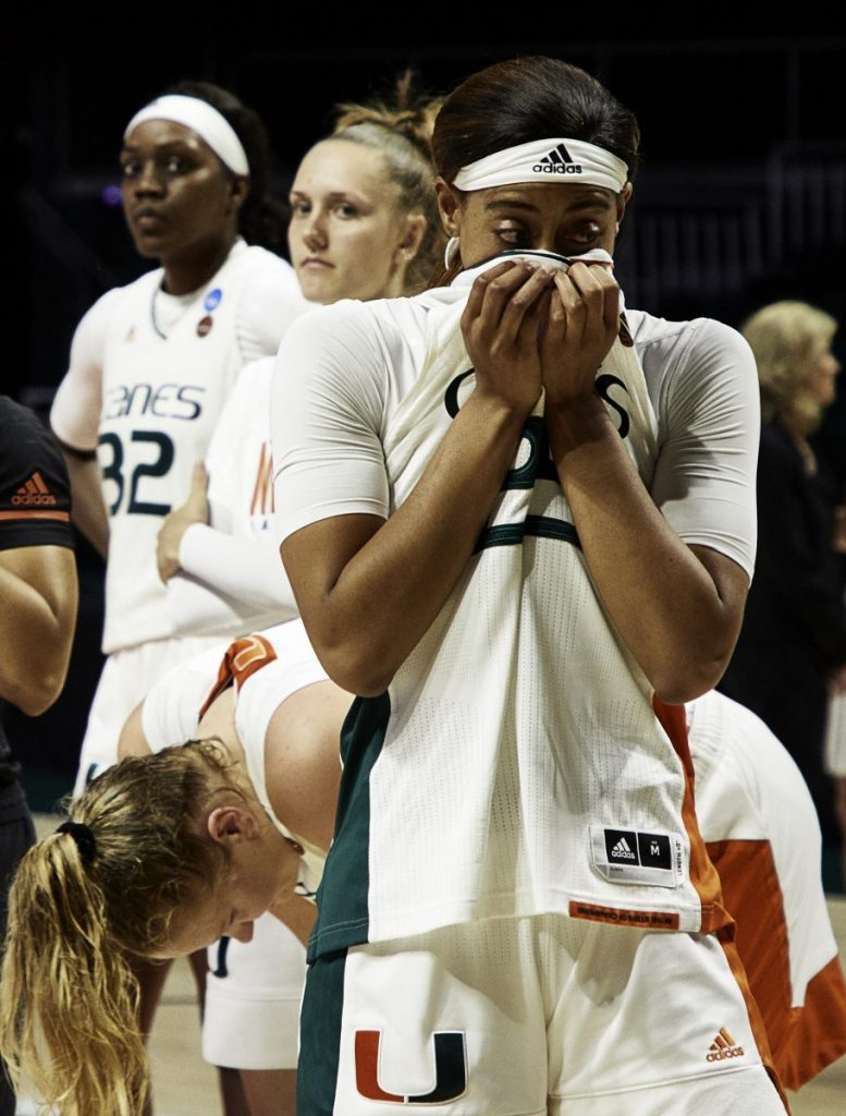 Hurricanes heartbroken again in NCAA Tournament