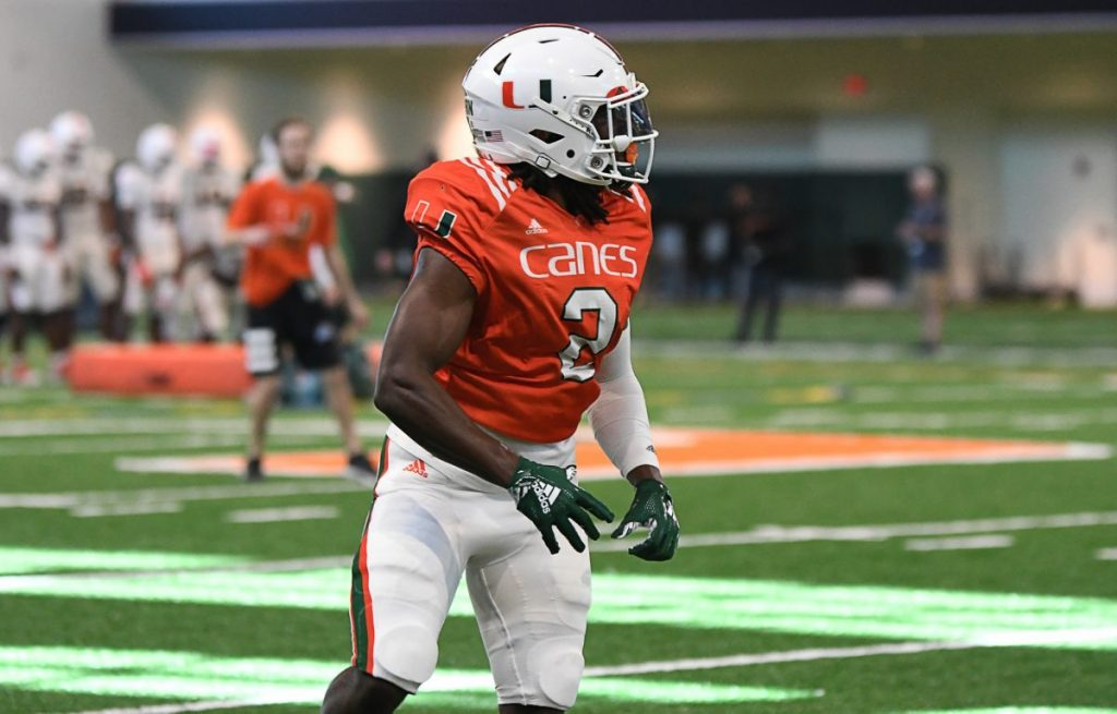 K.J. Osborn provides the Hurricanes with experience