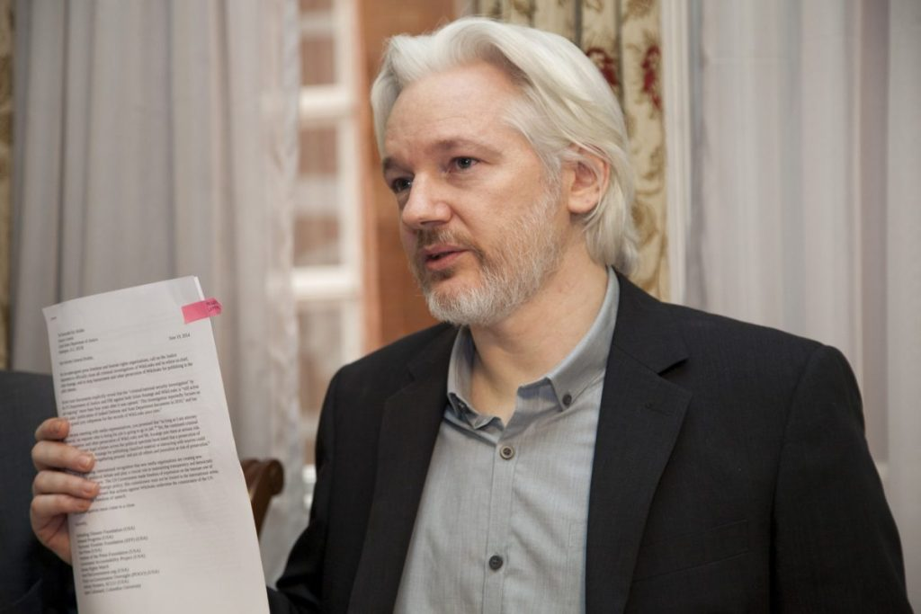 Thoughts on Julian Assange's polarizing image