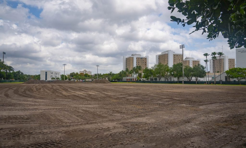 Construction on intramural fields elicits mixed reactions