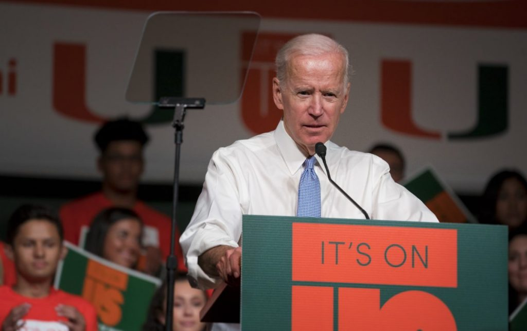 Students respond to allegations against Joe Biden