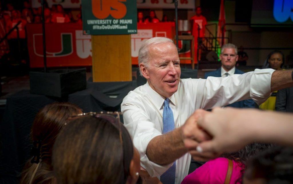 It's on you, Joe Biden