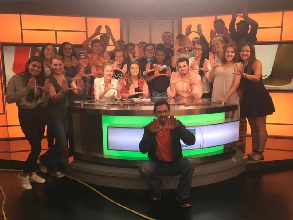 SportsDesk nominated for Suncoast Student Production Award