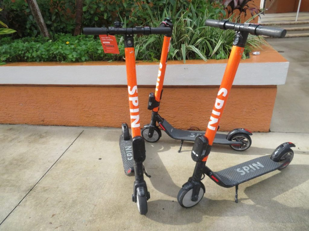 Spin Scooters to offer alternative transportation option on campus