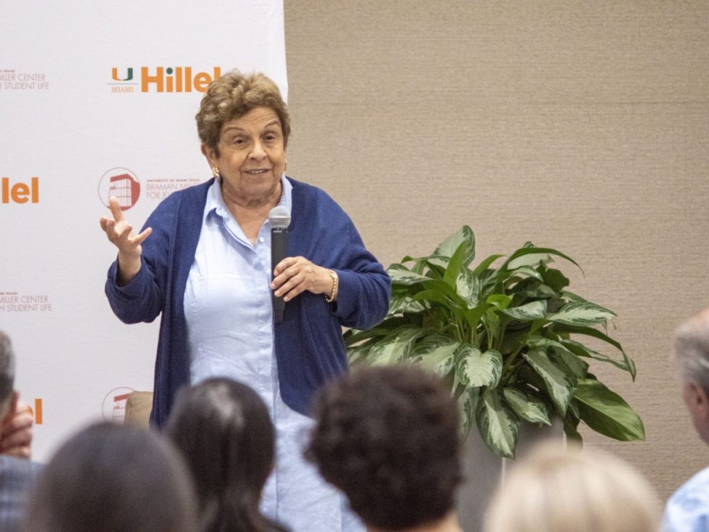 Hillel's Women Empowerment Series brings Congesswoman Donna Shalala back home