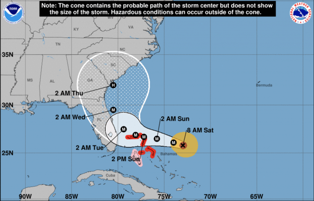Hurricane Dorian strengthens into category 4 storm, UM prepares