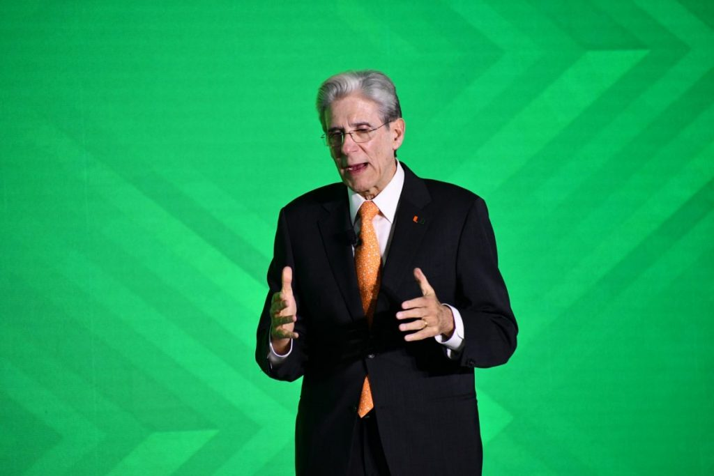 President Frenk lays groundwork for UM's future at 'State of the U'