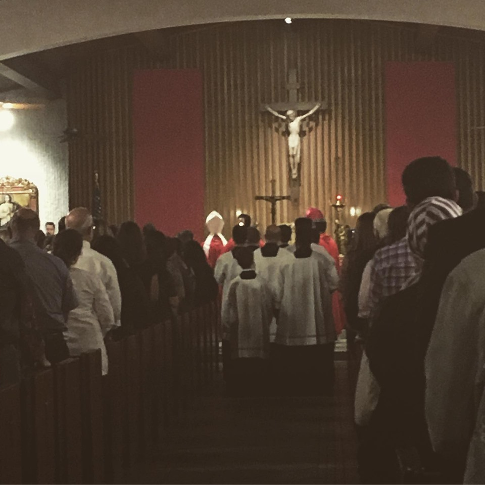 Archbishop Wenski celebrates mass at St. Augustine.jpg